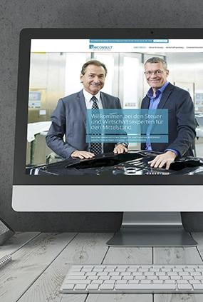 Neugestaltung Uniconsult Website thumbnail