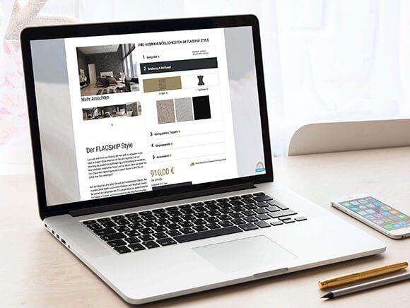 Meierling Betten Neugestaltung Website