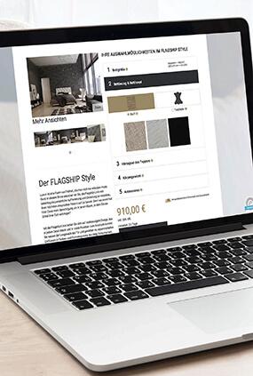 Meierling Betten Neugestaltung Website Homepage Thumbnail