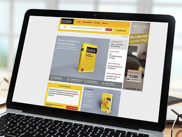 Meierling Betten Neugestaltung Website Werbung