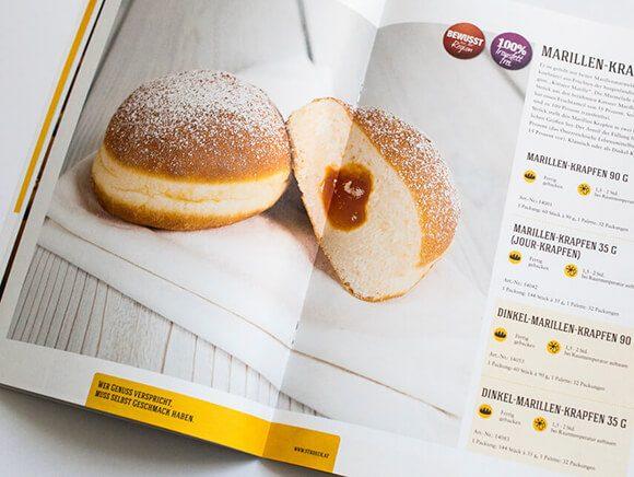Krapfen Katalog Bäckerei Stroeck Doppelseite 04