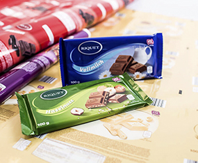 Schokoladetafel Neugestaltung Verpackung thumbnail