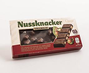 Nuss Schokolade Verpackung Neugestaltung thumbnail