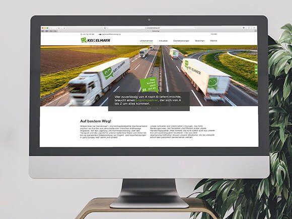 Neugestaltung Website Keimelmayr 02