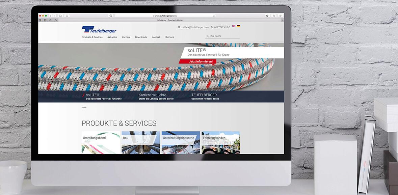 Neugestaltung Website Teufelberger 01