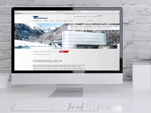Neugestaltung Website Teufelberger 02