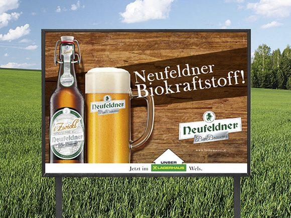 Plakat Neufeldner Bier Plakatkampagne 01