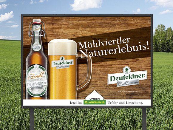 Plakat Neufeldner Bier Plakatkampagne 02