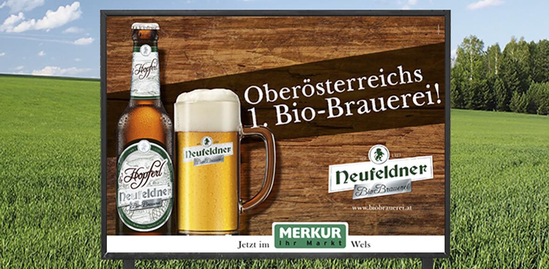Plakat Neufeldner Bier Plakatkampagne 03