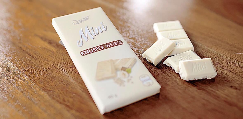 Schokoladenverpackung Neugestaltung Packaging