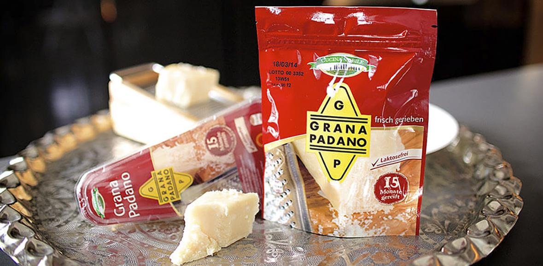 Verpackung Grana Padano Parmesan Thumbnail