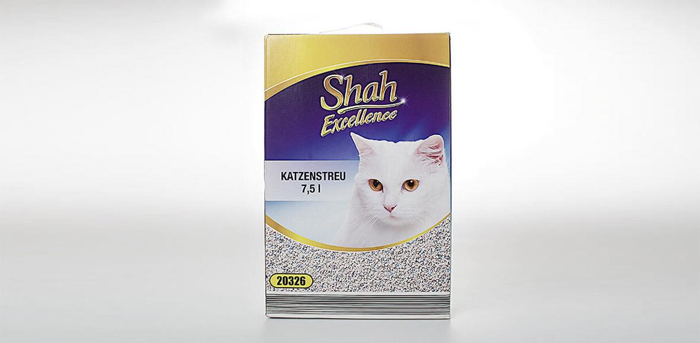 Verpackung Katzenstreu