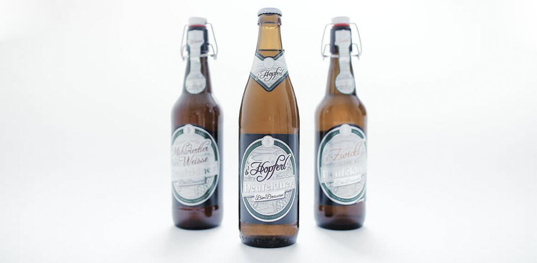 Verpackung Neufeldner Bier