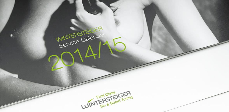 Verpackung Wintersteiger Service Kalender 2013