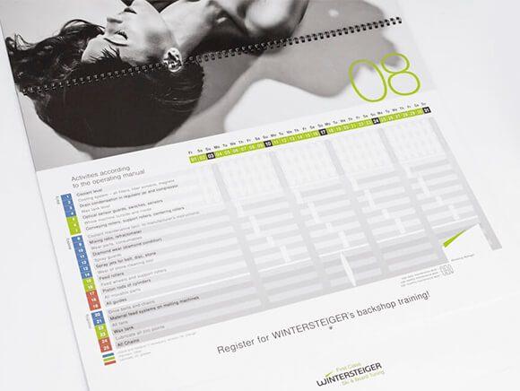Verpackung Wintersteiger Service Kalender 2013 03