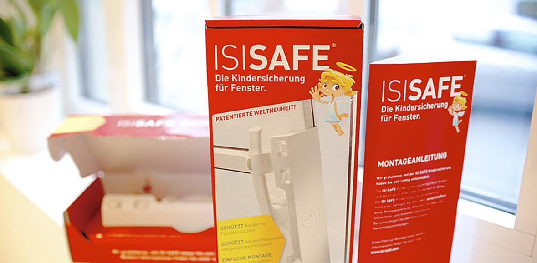 Verpackungsdesign Karton Isi-Safe