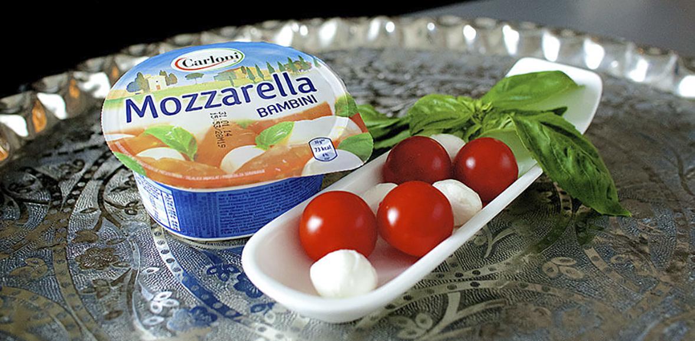 Verpackungsdesign Mozzarella