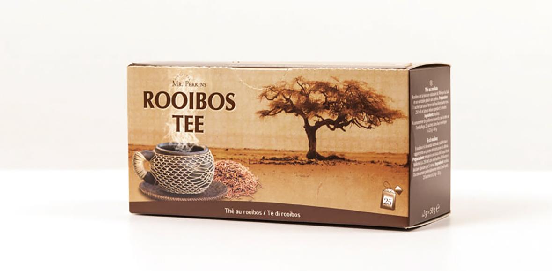 Verpackungsdesign Rooibos