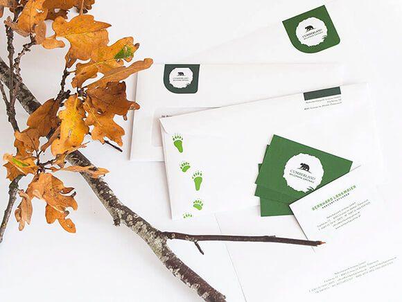 Wildpark Gruenau Briefpapier