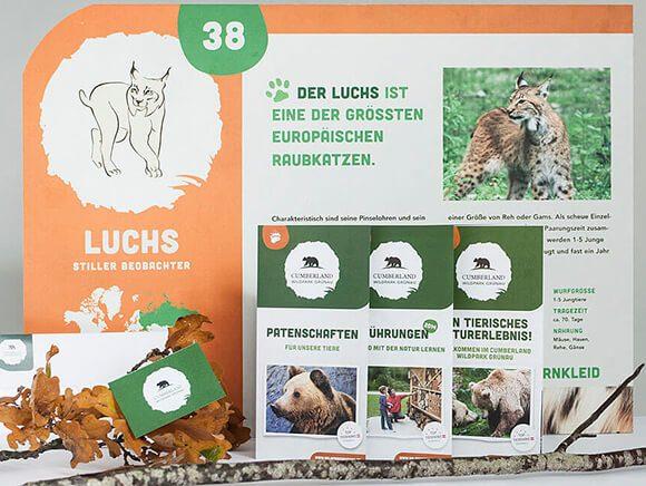Wildpark Gruenau Plakat