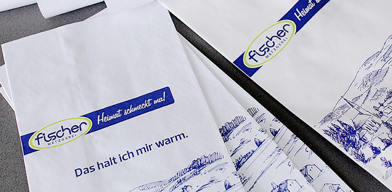 Wurstverpackungen Metzgerei Fischer Neugestaltung 01