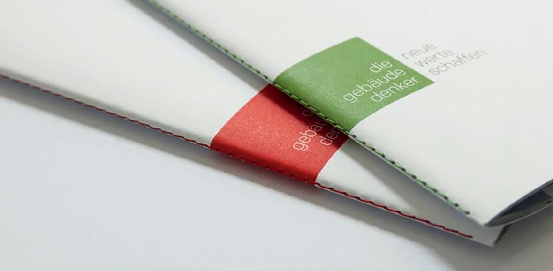 Markenkommunikation Delta Folder Green Line 01