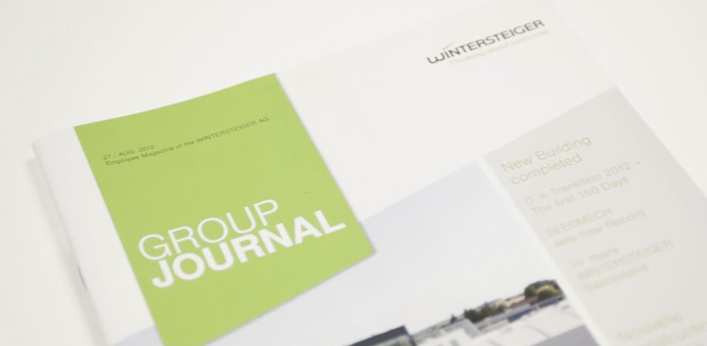 Wintersteiger AG Markenauftritt Markenkommunikation Folder Titelseite Detail 01