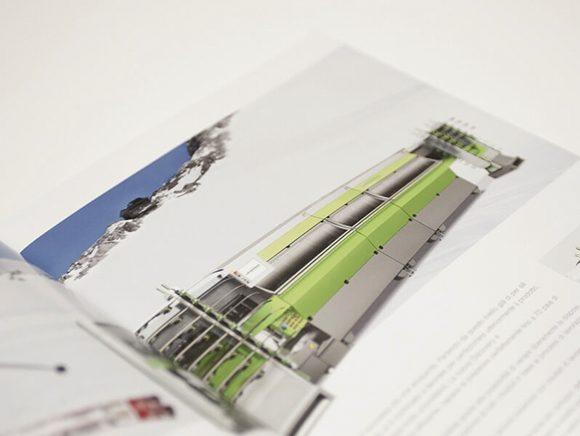 Wintersteiger AG Markenauftritt Markenkommunikation Folder Doppelseite Detail 04