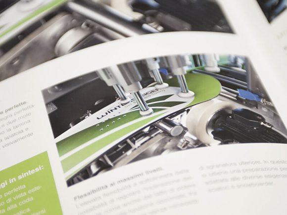 Wintersteiger AG Markenauftritt Markenkommunikation Folder Doppelseite Detail 05