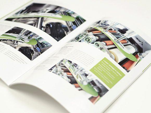 Wintersteiger AG Markenauftritt Markenkommunikation Folder Doppelseite Detail 06