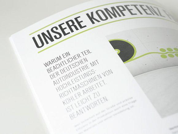 Kohler Maschinenbau Markenauftritt Folder Detail 01
