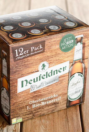Neufeldner Biobrauerei Bier 12er Pack Bio Packaging Design 04 thumbnail