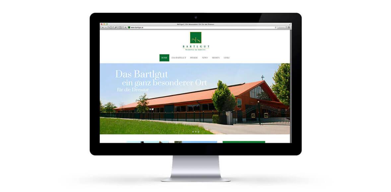 Batlgut iMac WEB Homepage Neugestaltung