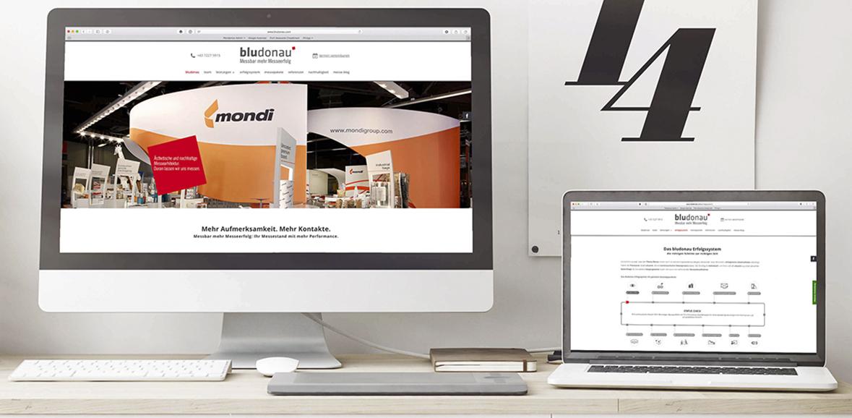 Neugestaltung Website bludonau hp erfolgssystem