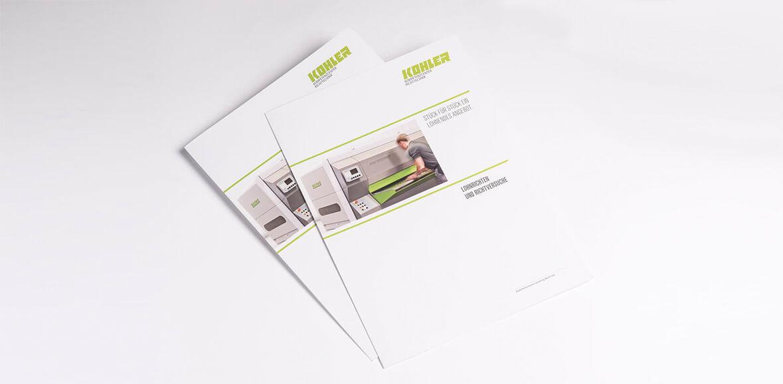 Neugestaltung Kohler Lohnrichte Folder 02