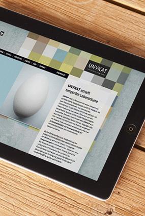Unykat Website Neugestaltung 06 iPad thumbnail
