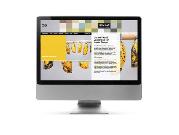 Unykat Website Neugestaltung 01