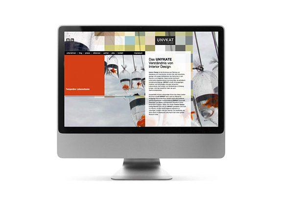 Unykat Website Neugestaltung 02
