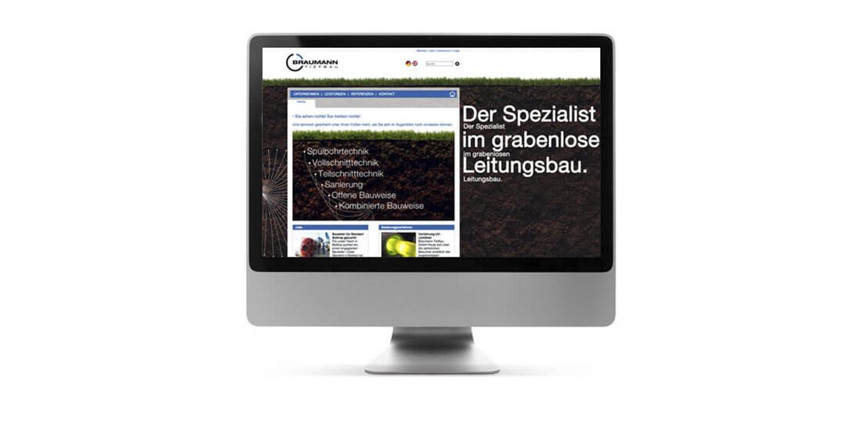 Braumann Website Neugestaltung