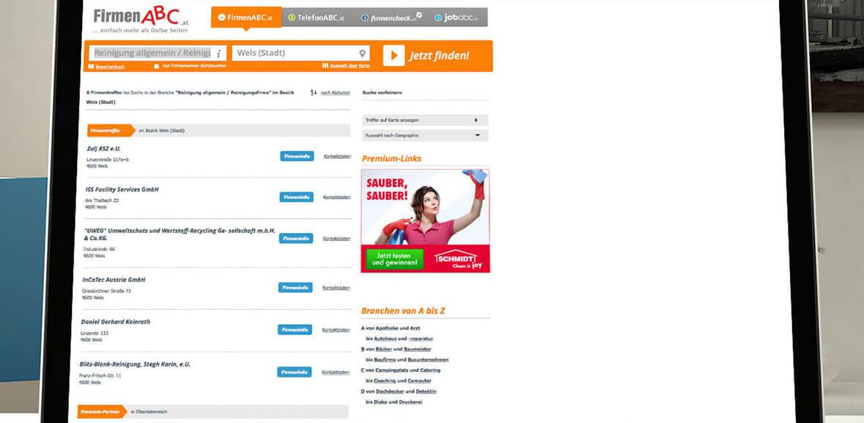 Schmidt Reinigung Online Marketing Kampagne 02