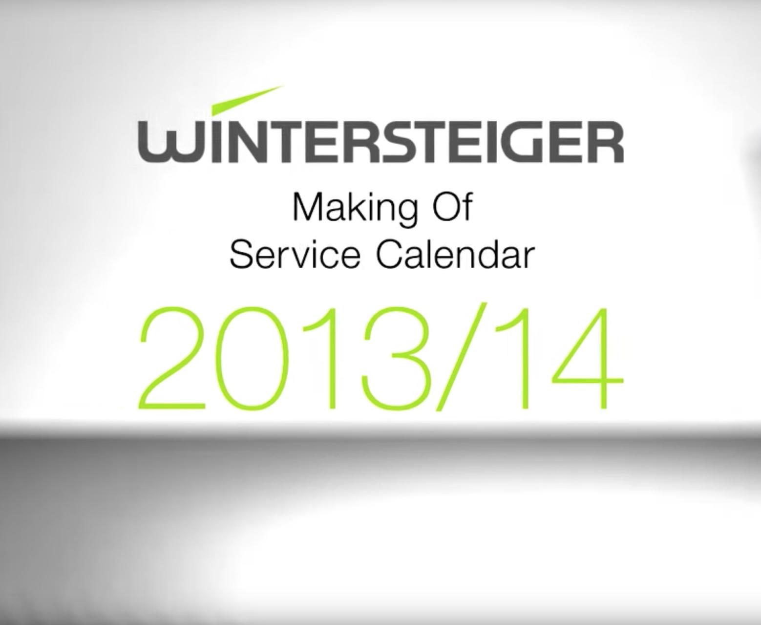 Wintersteiger Making of Servicekalender Thumbnail