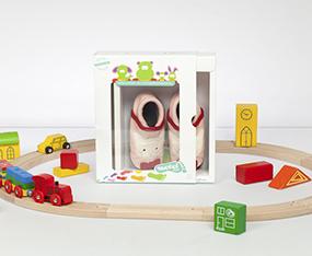 Packaging Design fuer Kinderschuhe thumbnail