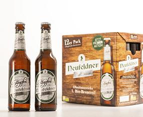Verpackungsdesign Etikette Neufeldner BioBrauerei thumbnail