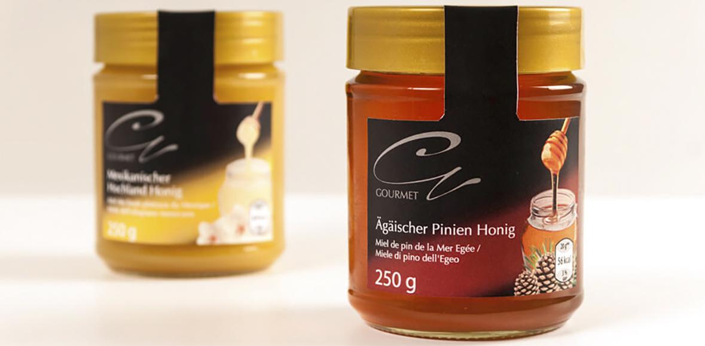 Verpackungsdesign Honig