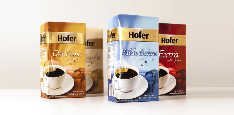 Verpackungsdesign Kaffeeverpackung
