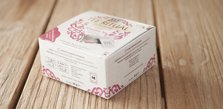 Verpackungsdesign Tee Ritual